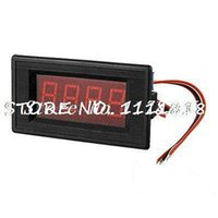 amp guage - Red LED Display Boat Guage DC A MV Volt Amp Meter