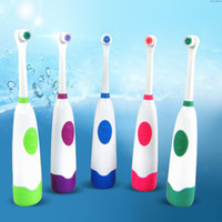 Wholesale Europe Rotary Child Adult electric toothbrush rechargeable electric toothbrush is not original battery electric toothbrush rotating electric