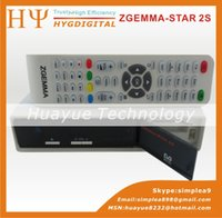 Cheap 1pc Zgemma Star 2S Twin DVB-S2 linux OS Digital Satellite Receiver Zgemma-star 2S Support IPTV streaming server box free shipping