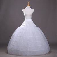 nylon stockings - 2015 In Stock Cheap Petticoat Wedding Accessory Nylon Ball Gown Six Hoop Beautiful Soft Bridal Accessories Best Selling High Quality
