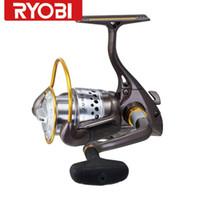Cheap RYOBI ZAUBER Spinning Reel High Performance fishing reel 1000-4000 Series metal Fishing Reels for game fishing