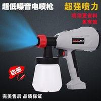 Wholesale detachable high voltage electric spray gun chocolate cake latex paint spray gun gun control flow