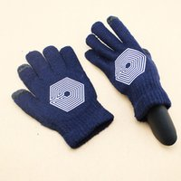 Wholesale 12pairs Touch screen gloves exo ne1 pm b1a4 bap beast bigbang cnblue