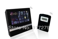 Mechanical best weather stations - Best selling digital multifunction weather station LCD alarm clock fashion digital table clock wholesaler