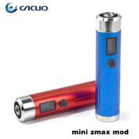 Cheap Sigelei Mini Zmax E Cigarette Kit Zmax Mini Mod For 18650 18350 18500 Battery CE4 Atomizer 100% Original Sigelei E Cig