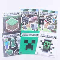 Wholesale Minecraft Sticker Minecraft Creeper Sticker Free DHL Models Available
