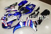al por mayor yamaha motocicleta azul-Nuevo Kit de Carenado de Motocicleta de Inyección para Yamaha YZF R1 02 03 Carcasas de plástico ABS YZF-R1 2002 2003 Carenados Sterilgarda 19 Azul