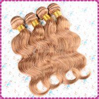 Wholesale RXYhair Brazilian body wave honey blonde weave brazilian hair bundles human virgin hair extensions blond human hair weave