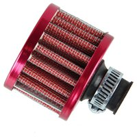 Wholesale 12mm Red Car Cone Cold Air Intake Filter Turbo Vent Crankcase Breather Sales