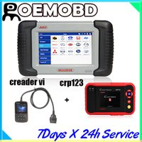 For BMW maxidas ds708 - Genuine Autel MaxiDas DS708 Integreted Diagnostic Scanner For US European Asian Cars Online Upgrade with Launch creader vi and CRP123 reader