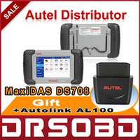 Wholesale AUTEL MaxiDAS DS708 Automotive Diagnosis Analysis System Multi Language Multifunctional Diagnostic Scanner Free Online Update