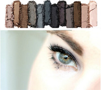 best matte eye shadow - Hottest item Makeup Eye Shadow color eyeshadow palette NUDE Smoky Palette best quality version Chrismas Gift Epacket