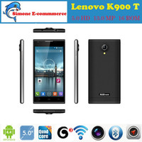 phone unlock gsm t-mobile - Original Lenovo K900 T MTK6592 Octa Core Smartphone Mobile Phone IPS quot MP Android Unlock GSM WCDMA G