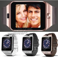 Wholesale 2016 Bluetooth Smart watch DZ09 SIM Phone Call Write Watch Pedometer Camera for iPhone Plus S Samsung S7 Note