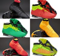 Wholesale 2015 Outdoor football boots Superfly FG acc soccer boots Handsome men magista obra soccer shoes