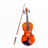 Wholesale Violin Fiddle Basswood Steel String Arbor Bow Stringed Instrument Musical Toy for Kids Beginners order lt no track