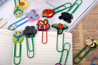 big binder clips - big size cartoon cut animal paper clip new paperclips bookmarks binder clips stapler cartoon plastic coloured drawing animal m311