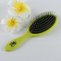Wholesale New Fashion Women Wet Queen Styler Purple Professional Detangling Tangle Shower Hair Brush Teezer HairBrushes Combs Woman wet Combs