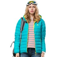 active freight - New fashion winter white duck down down jacket female leisure fashion warm coat coat ultra light outdoor down jacket for free freight