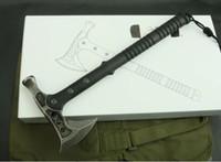 ax multi tool - Gardening Mantis dual ax hammer fire axe axe camping axe AX cutting life saving multi function garden tools axe freeshipping