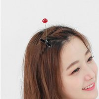 bean sprout chinese - SUPER CUTE Emulational Bean Sprout Glass Hairpin Hair Clip New Style Funny Jewelry Chinese Trendy