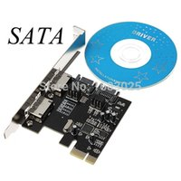 Wholesale Brand New PCI E Express SATA III eSATA Gbps Ports Version Card Adapter Converter