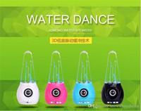 Fuente de la música llevado España-Danza altavoz coloridos del agua de agua caída Mostrar mini altavoz Bluetooth USB Light Music Fuente Altavoz Luz LED para Iphone Ipad PC