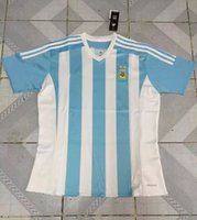 slim away - DHL Top Thailand Quality Season Argentina Jerseys Away from home Soccer Jerseys mixed order customized name and number