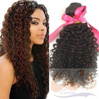 Wholesale Hot sale Grade A Human Hair Weft Deep Wave Free Can Be Dyed No Shedding GS1416