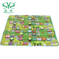 Wholesale New Shengyuan climb pad oversized baby crawling mat baby climb pad thickening variety of fashions