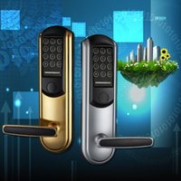 Wholesale Direct apartment locks electronic locks smart locks card lock Shenzhen
