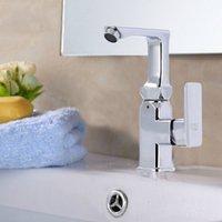Wholesale New Hot rotary bubbler Quartet practical alloy faucet faucet single hole faucet to wash pots poon choi QW786
