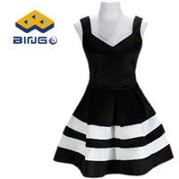 bg gowns - Bingo Limited Sexy V neck Bodycon Dress Plus Size Vestidos Women Summer Casual Sleeveless Dresses Bg f7085