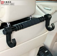 Wholesale Powerful multifunction car car car hook double hook longer car back compartment hook with a chair