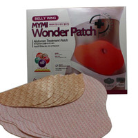 Wholesale 2014 Hot Sale MYMI Wonder Slim patch slimming belly lose weight Abdomen fat burning patch For Body Sculpting And Slimming pack