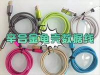 apple iphone cable length - 1 meter length of quick charge android aluminum alloy cable national standard pure copper