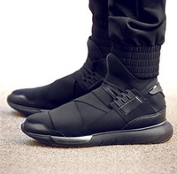 men leather shoes - Y Sneaker New Hot Y3 QASA Men And Women Genuine Leather Sneakers Lovers Shoes sneaker