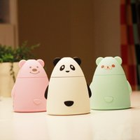 amazing humidifier - 1 Piece Variety Bear USB Air Humidifier Ultrasonic Amazing Portable Essential Oil Diffuser Mist Maker Umidificador Difusor