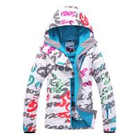 Wholesale Gsou women s snow ski monoboard Fashion Women Ski Jacket Warm Snowboard Climbing Skiing Jackets Waterproof Windproof Clothes