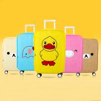 Wholesale Durable Cartoon Travel Luggage Suitcase case quality luggage bag Carrier Bag Protective Cover Anti Dust Hot