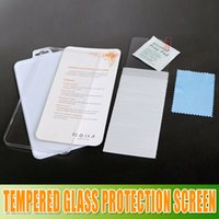 Wholesale Factory price iphone plus Tempered Glass Protection Screen Guard for Samsung Galaxy S3 s4 s5 Note for Iphone Screen Protector