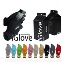 Wholesale With retail pack High quality Unisex iGlove Capacitive Touch Screen Gloves for iphone C S for ipad smart phone Z048
