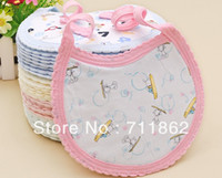 Wholesale cotton baby bibs Feeding Saliva Towel waterproof bibs