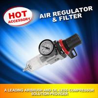 Parts air compressor parts - AFR B FENGDA Airbrush Compressor AIR PRESSURE REGULATOR Gauge Water Trap Moisture Filter Hose