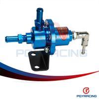 Wholesale PQY STORE SARD Blue Adjustable Turbo Fuel Pressure Regulator FOR RX7 S13 S14 Skyline WRX EVO W O GAUGE PQY7563B