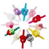Wholesale New Baby Girls Toddler Flower Headband Headwear Hair Accessories Band Bow order lt no track