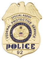 administration services - US SPECIAL AGENT FEDERAL PROTECTIVE SERVICE GENERAL SERVICES ADMINISTRATION METAL BADGE