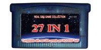 Compra Juego de gba envío-27in1 multi_games cart / nave libre / para la consola real de GBA y la consola de WOODISP ambos / todos los juegos son juegos verdaderos del gba