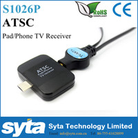 atsc tuner hdmi - SYTA Digital ATSC TV Receiver Watch live TV on Android Phone Pad USB TV tuner pad TV stick for USA Korea Mexico S1026P
