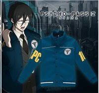 Wholesale High Quality New High Quality New Anime PSYCHO PASS Hoodies Coat Baseball Jacket Cosplay Costume Casual Wearing